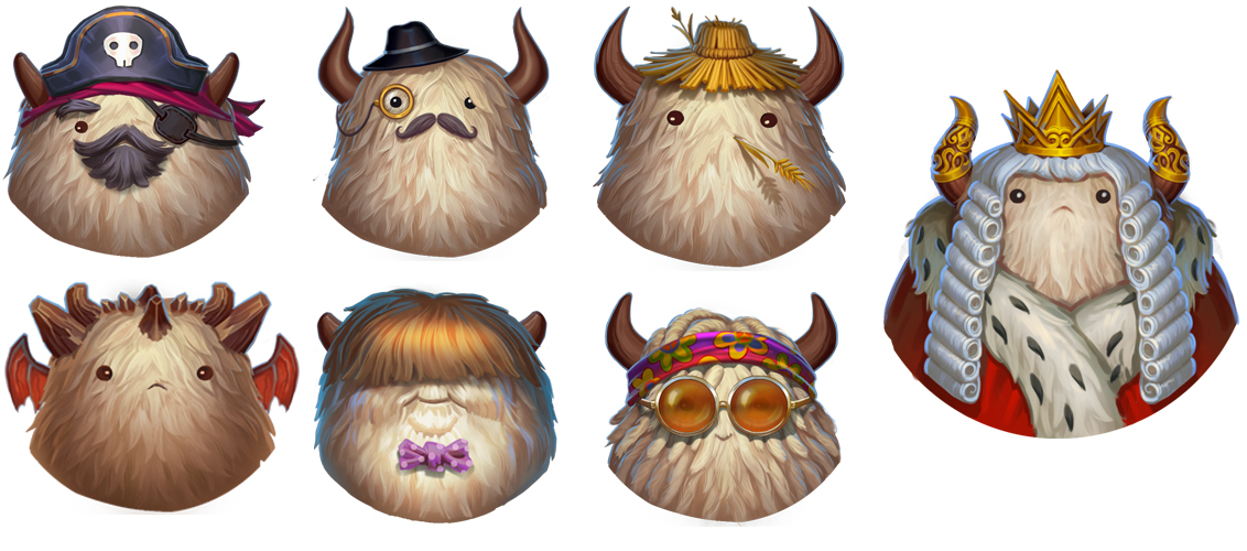 Yak Avatars